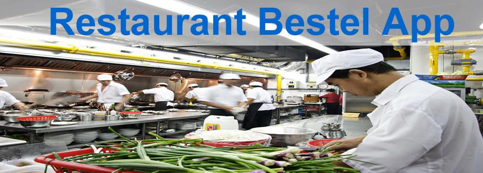 Restaurant bestel app